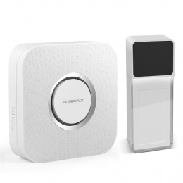 Wireless Doorbell Operating at over 985-feet Range with Over 52 Chimes B-12