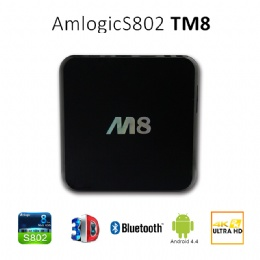 Smart wifi android S802 4K 1080P LC- M8 TV box
