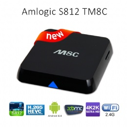 M8 Android TV Box M8C Amlogic S812 1G 8G XBMC Gotham13.2 Bluetooth Full HD Android 4.4 KitKat Bluetooth M8 Smart TV Box