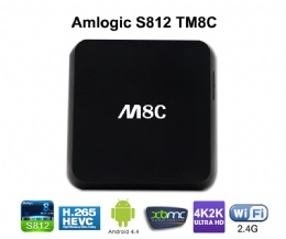M8C amlogic s802 Quad core kaon satellite receiver Smart Android TV Box