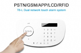 Hot GSM alarm system SSG-T6 GSM Autodial Home Office Burglar Intruder Fire Alarm SALES