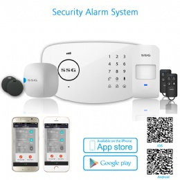 GSM alarm system SSG-T6 WIRELESS GSM AUTODIAL SMS HOME HOUSE OFFICE SECURITY BURGLAR INTRUDER ALARM