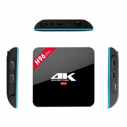 4K Player H96 Pro android 6.0 marshmallow tv box amlogic s912 64bit 2G 16G Octa-core TV BOX Internet set top box