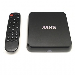 M8S 4K Android TV Box with Amlogic S812 Quad Core, 2GB RAM, 8GB Flash, Fully Loaded KODI With Octa-core GPU, HDMI Dual Band Wifi 2.4GHz 5GHz Bluetooth 4.0 Streaming Media Player